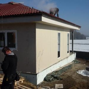 Nový rodinný dům ve výstavbě v Křižanovicích od firmy Bajulus